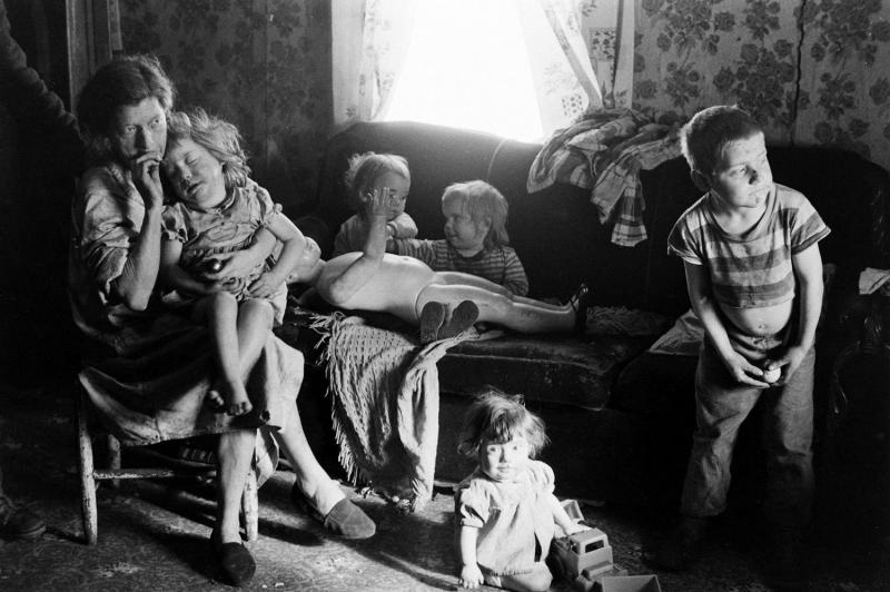 family in poverty