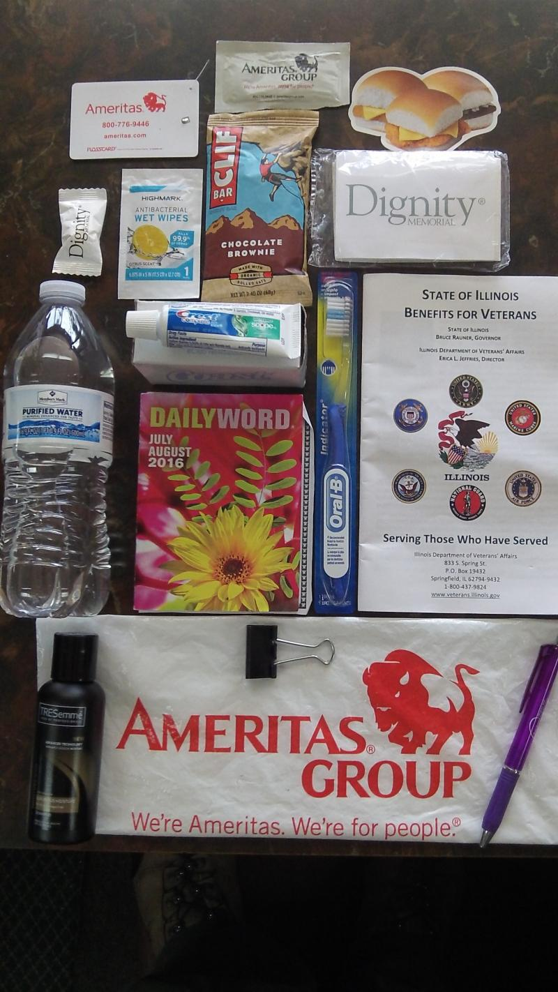 GCA ( Spring - Summer ) Homeless Person Survival Kit 2017 -